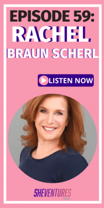 Why is marketing for erectile dysfunction fine, but anything about female sexuality is shunned? Listen as Rachel Braun Scherl discusses this inequality. #SheVenturesPod #podcast #entrepreneur #motivation #entrepreneurinspirationwomen